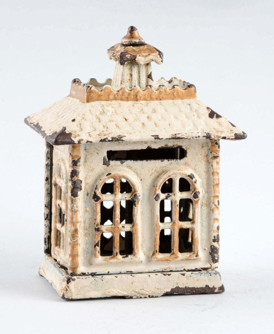 Cast Iron State Bank Building Bank. - 2