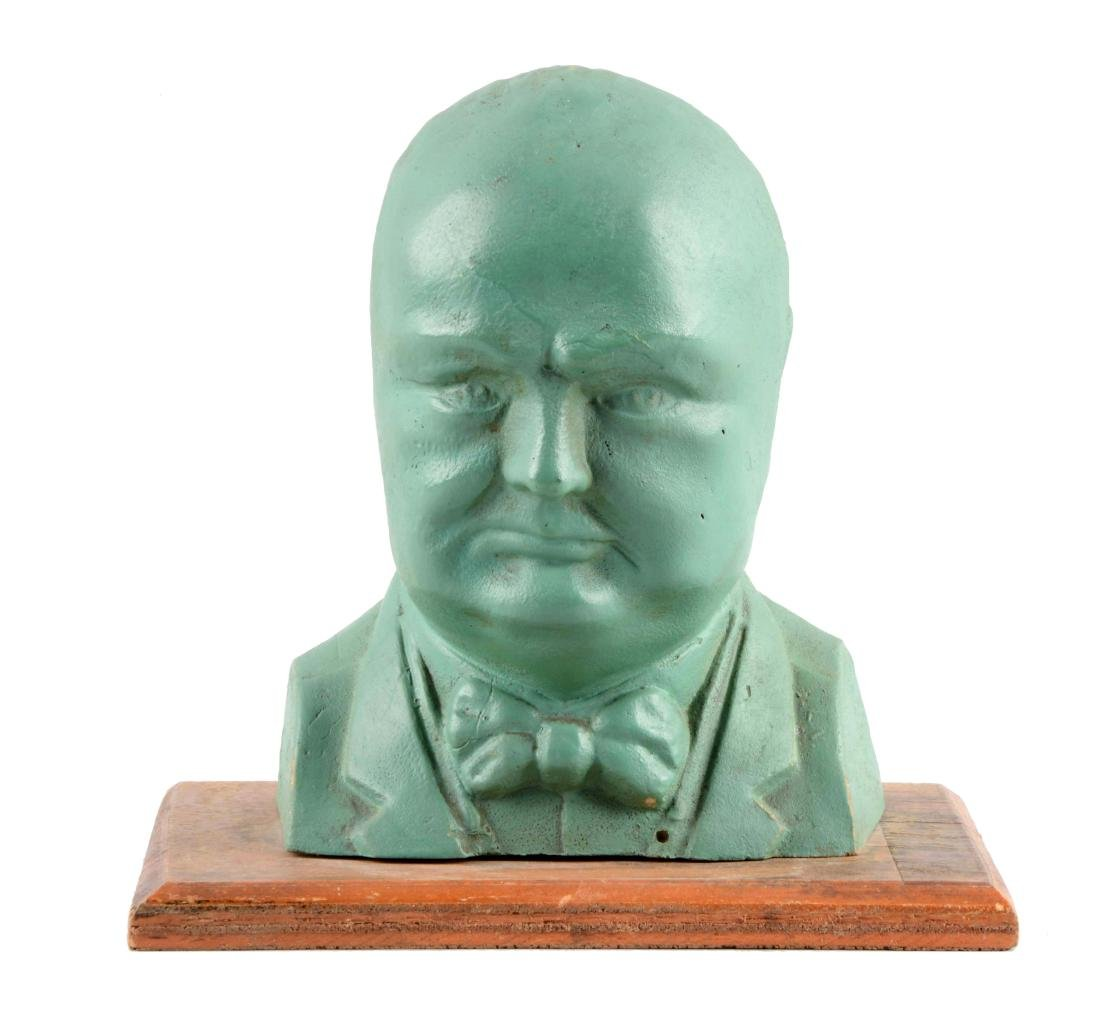 Composition English Winston Churchill Still Bank.