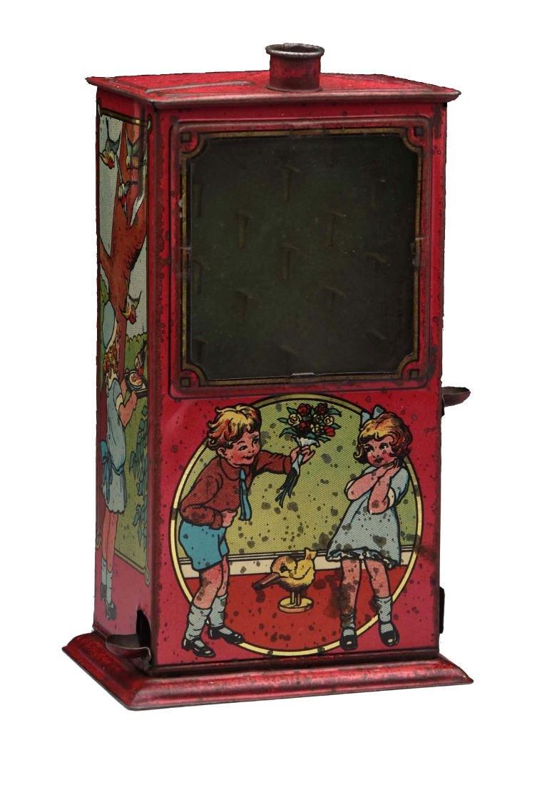 Tin Vending Pinball Game Bank.