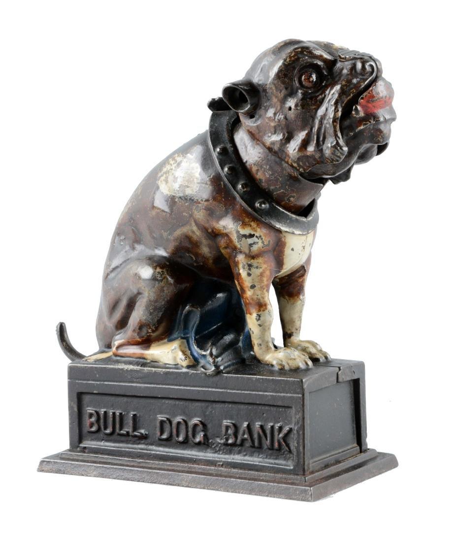 Bull Dog Mechanical Bank.