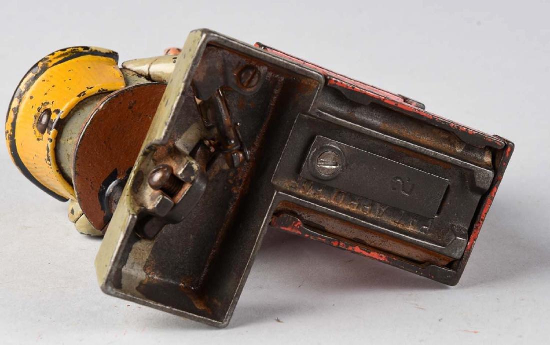 Shepard Hardware Cast Iron Santa Claus Mechanical Bank. - 3