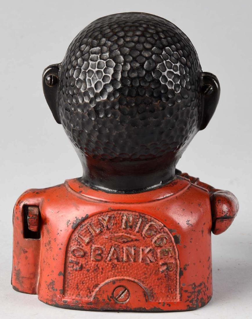 John Harper Cast Iron Jolly Mechanical Bank. - 2