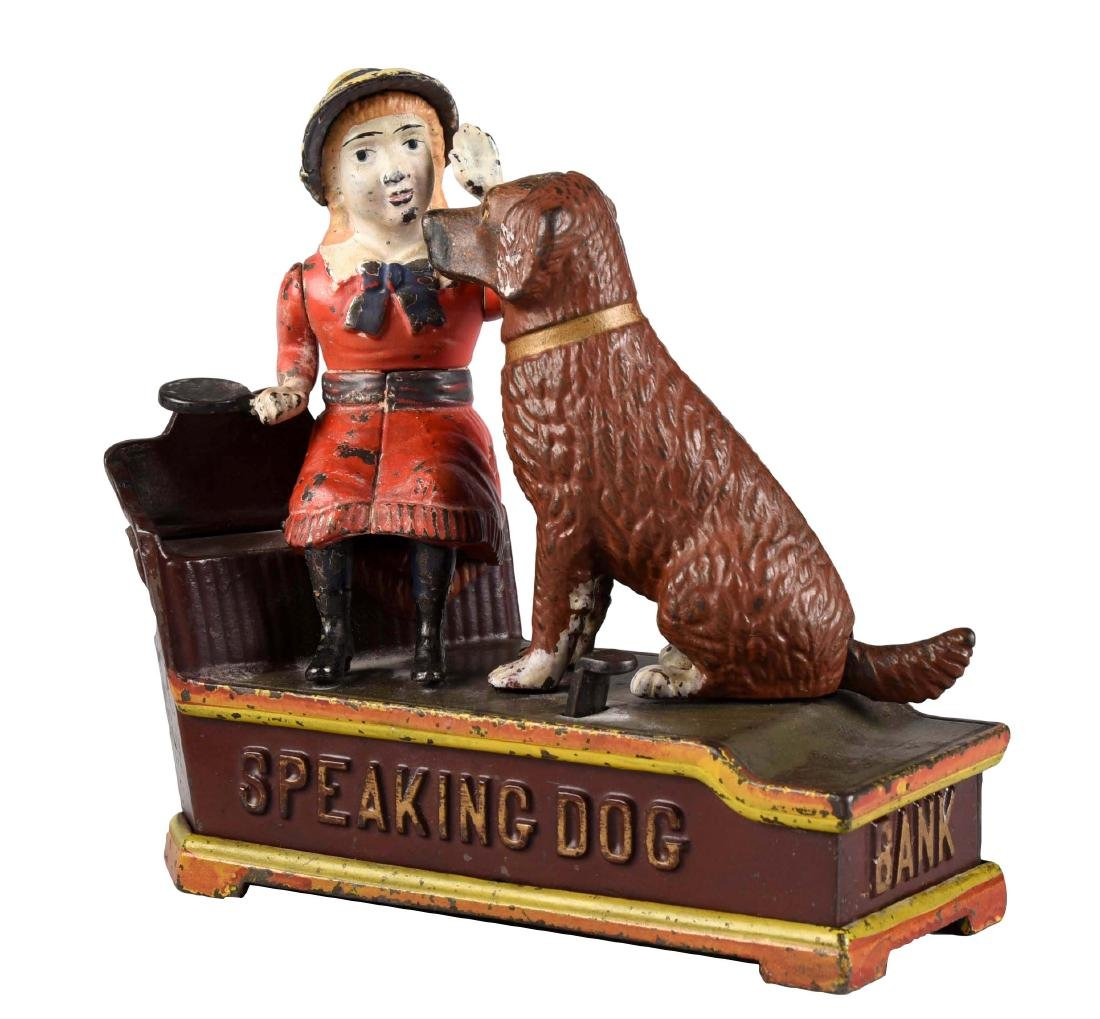 Shepard Hardware Cast Iron Speaking Dog Mechanical