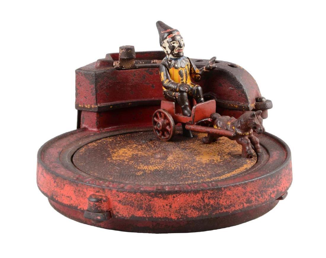 Shepard Hardware Cast Iron Circus Mechanical Bank.