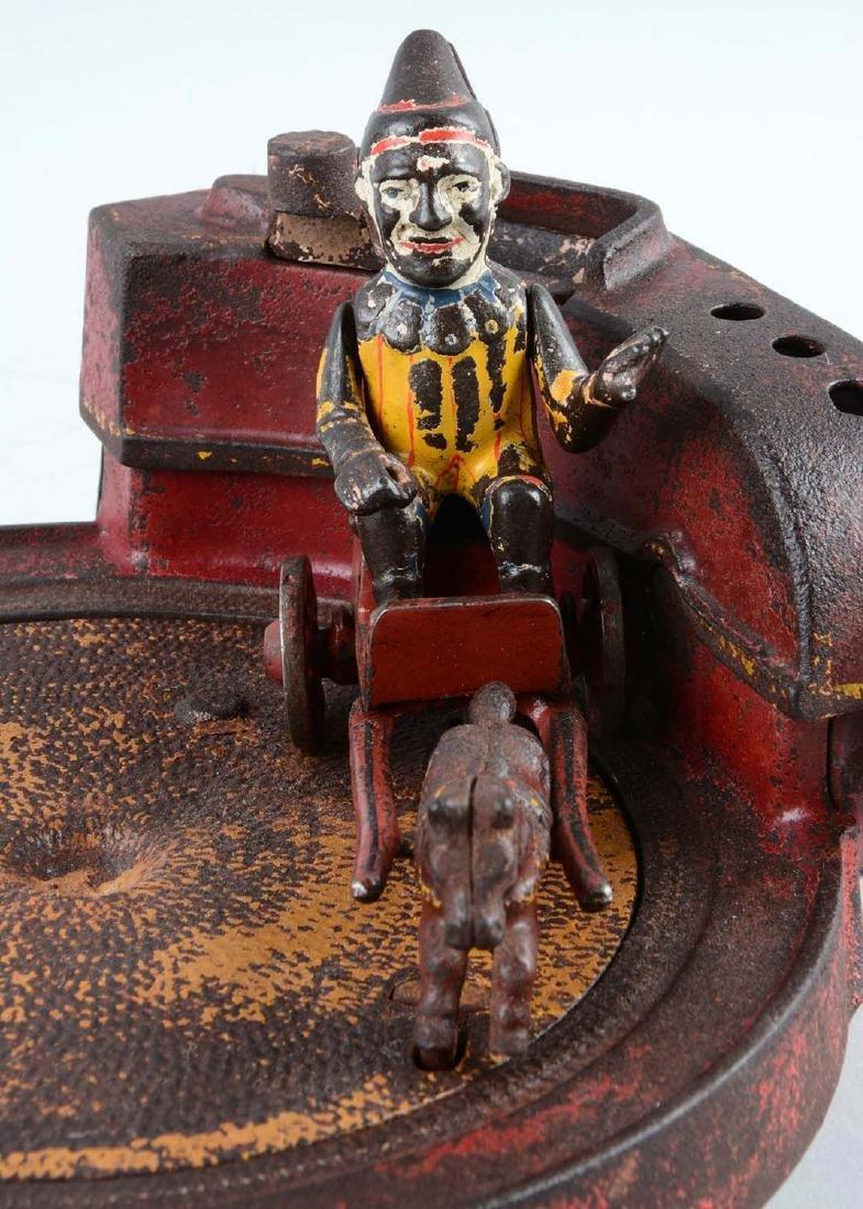 Shepard Hardware Cast Iron Circus Mechanical Bank. - 2