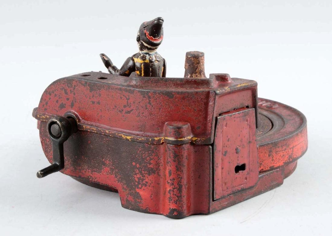 Shepard Hardware Cast Iron Circus Mechanical Bank. - 3