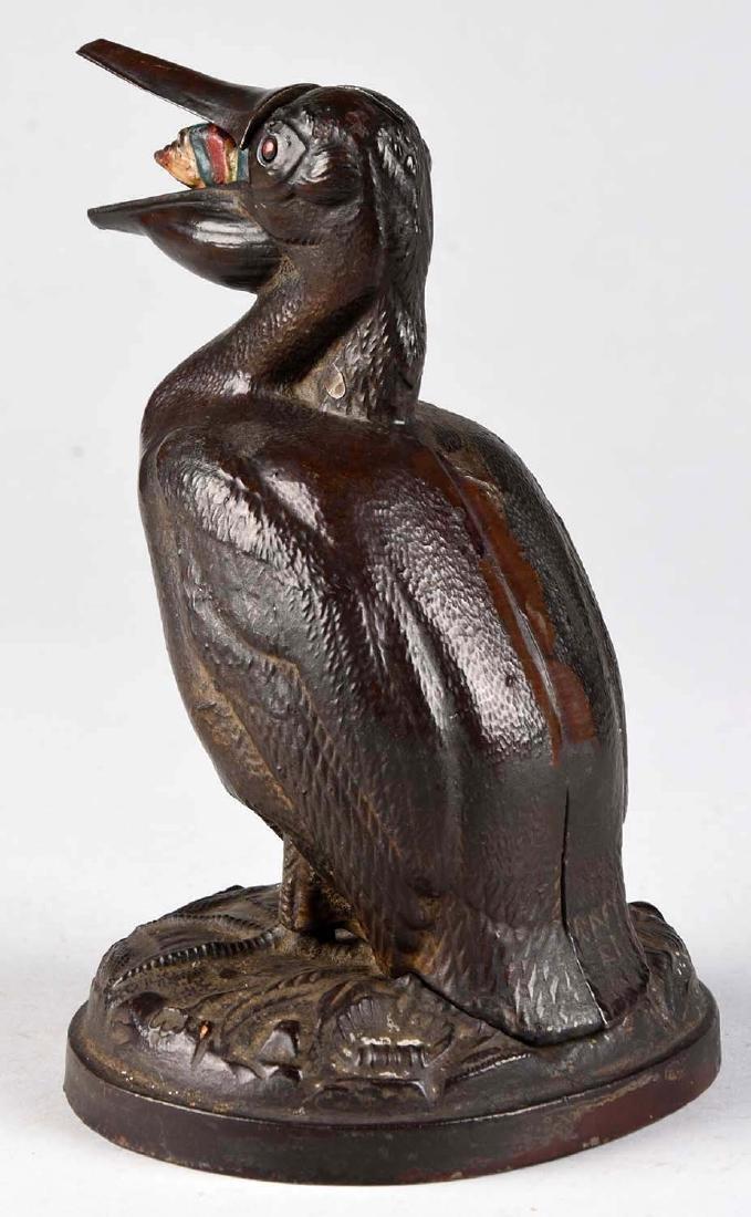 Trenton Lock & Hardware Cast Iron Pelican & Arab - 2