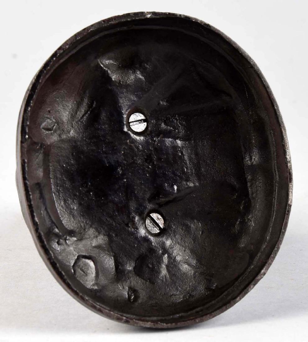 Trenton Lock & Hardware Cast Iron Pelican & Arab - 3