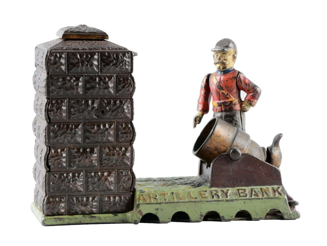 Artillery Mechanical Bank.