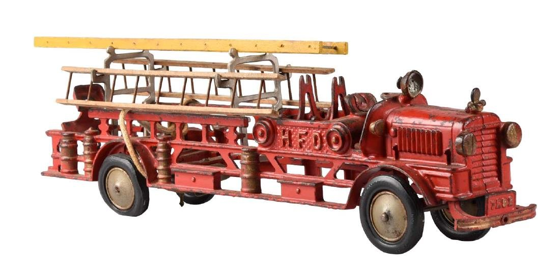 Large Scarce Hubley Ladder Truck.