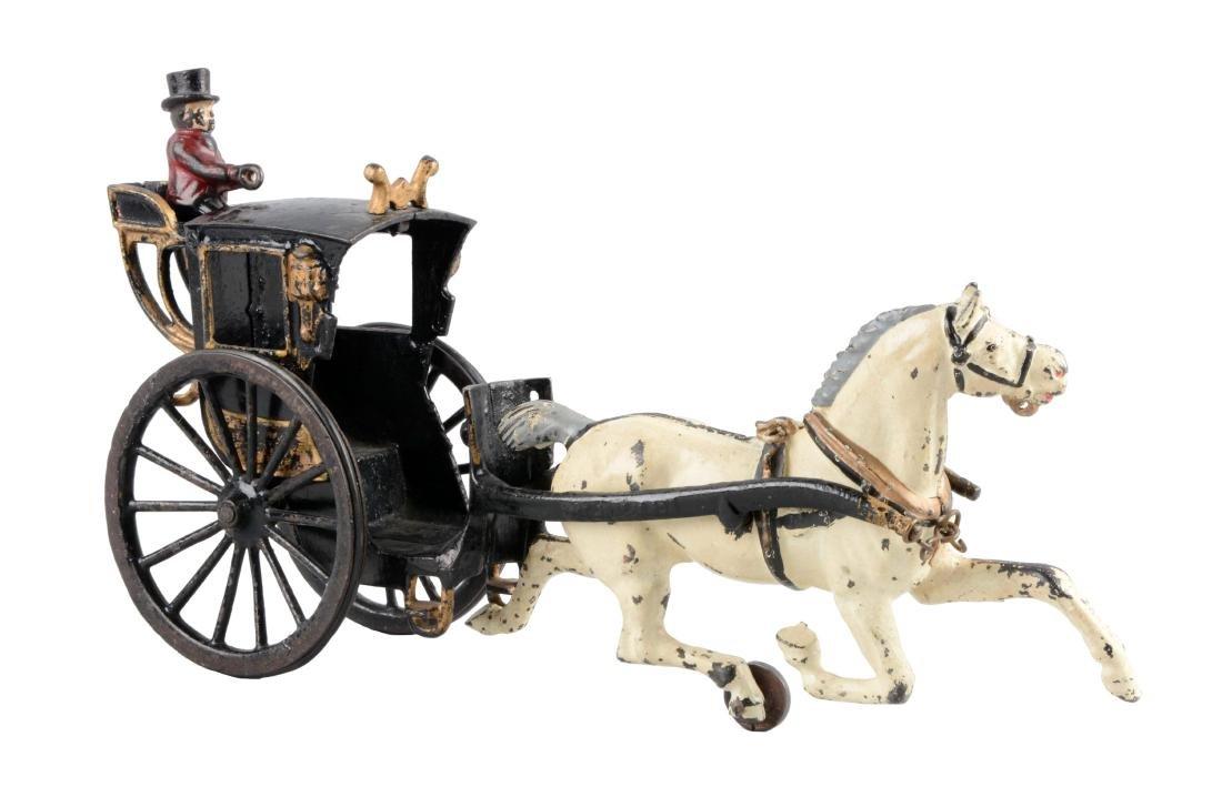 Ives Horse Drawn Hansom Cab.