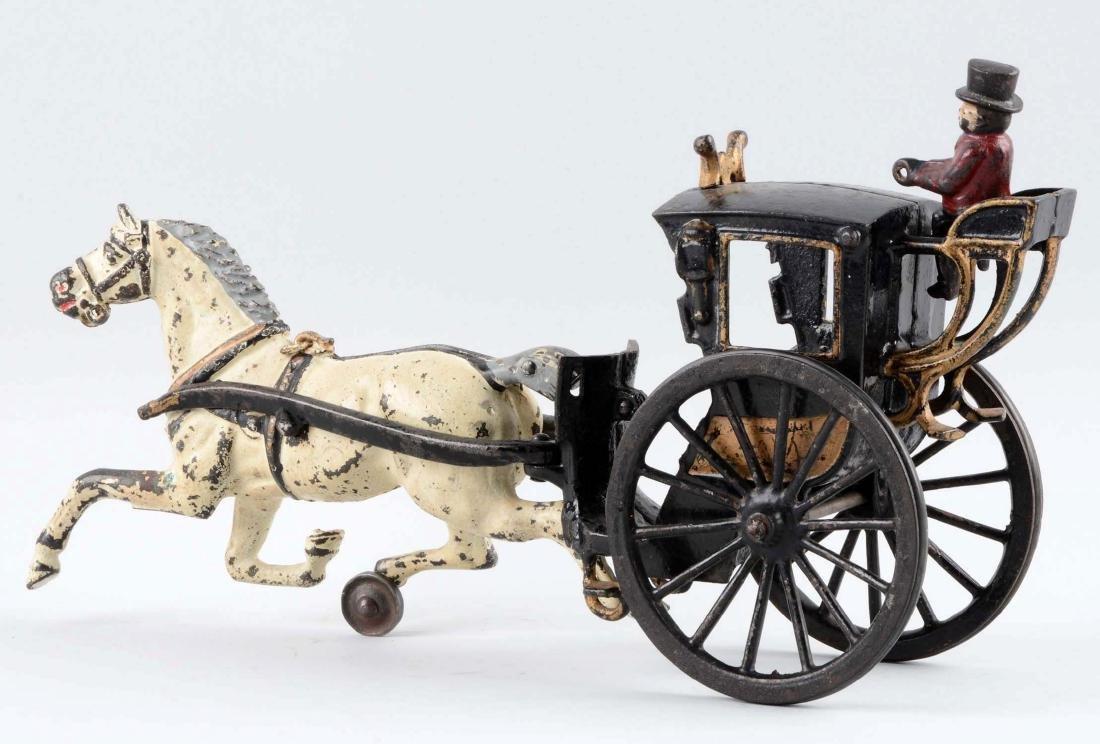 Ives Horse Drawn Hansom Cab. - 2