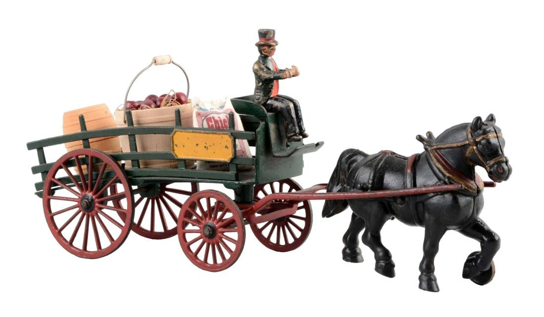 Wilkins One Horse Dray.