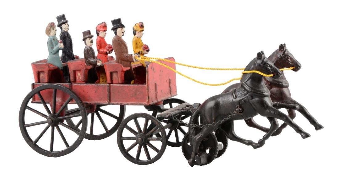 Carpenter Scarce Open Horse Drawn Wagon.
