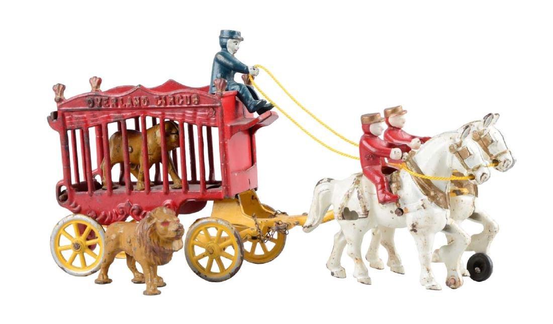 Kenton Overland Circus Cage Wagon.