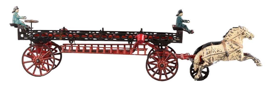 Carpenter Horse Drawn Ladder Wagon.