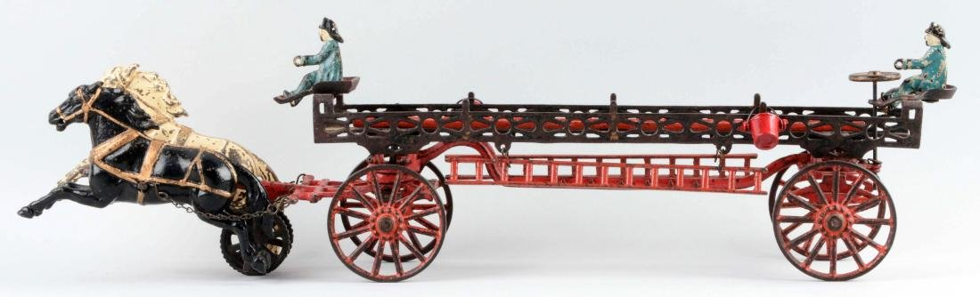 Carpenter Horse Drawn Ladder Wagon. - 2