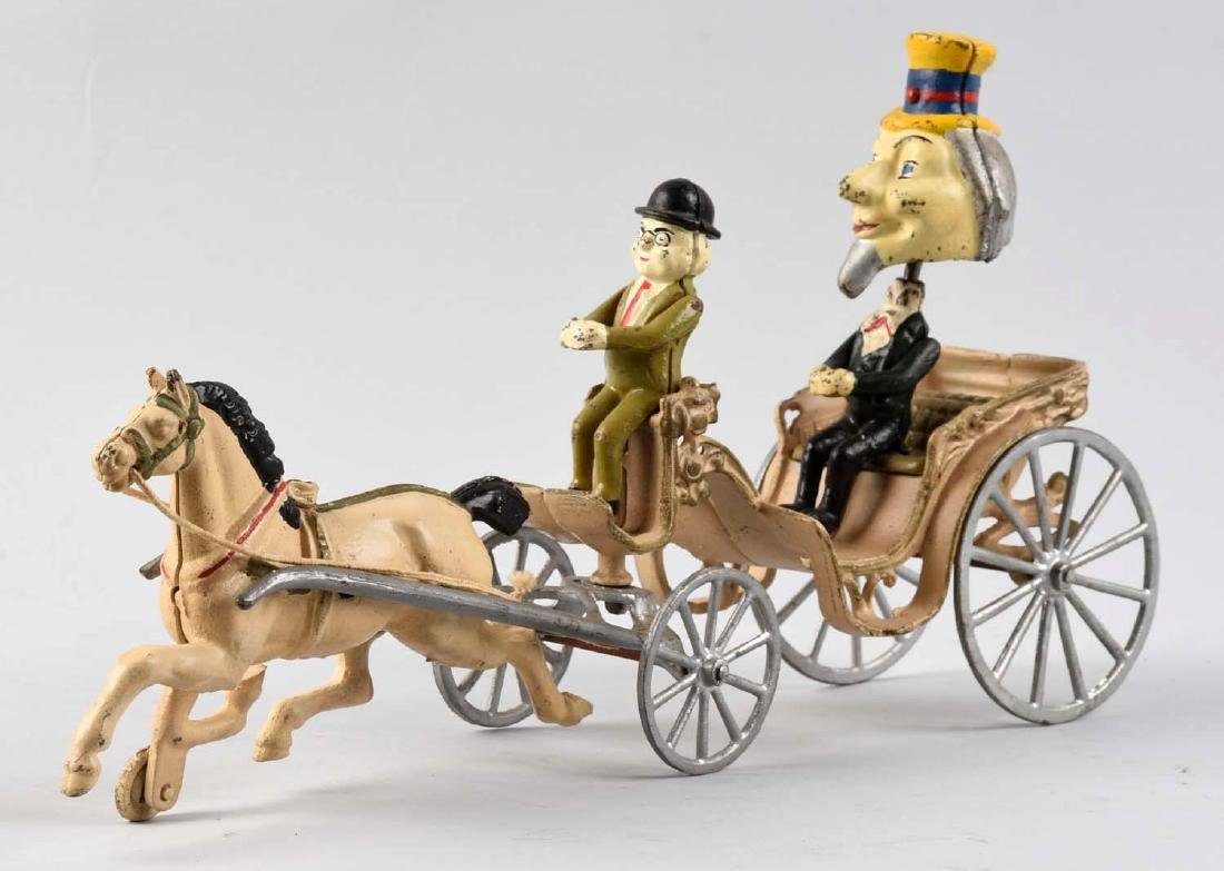 Sears Recast of Kenton Uncle Sam Nodder Wagon. - 2