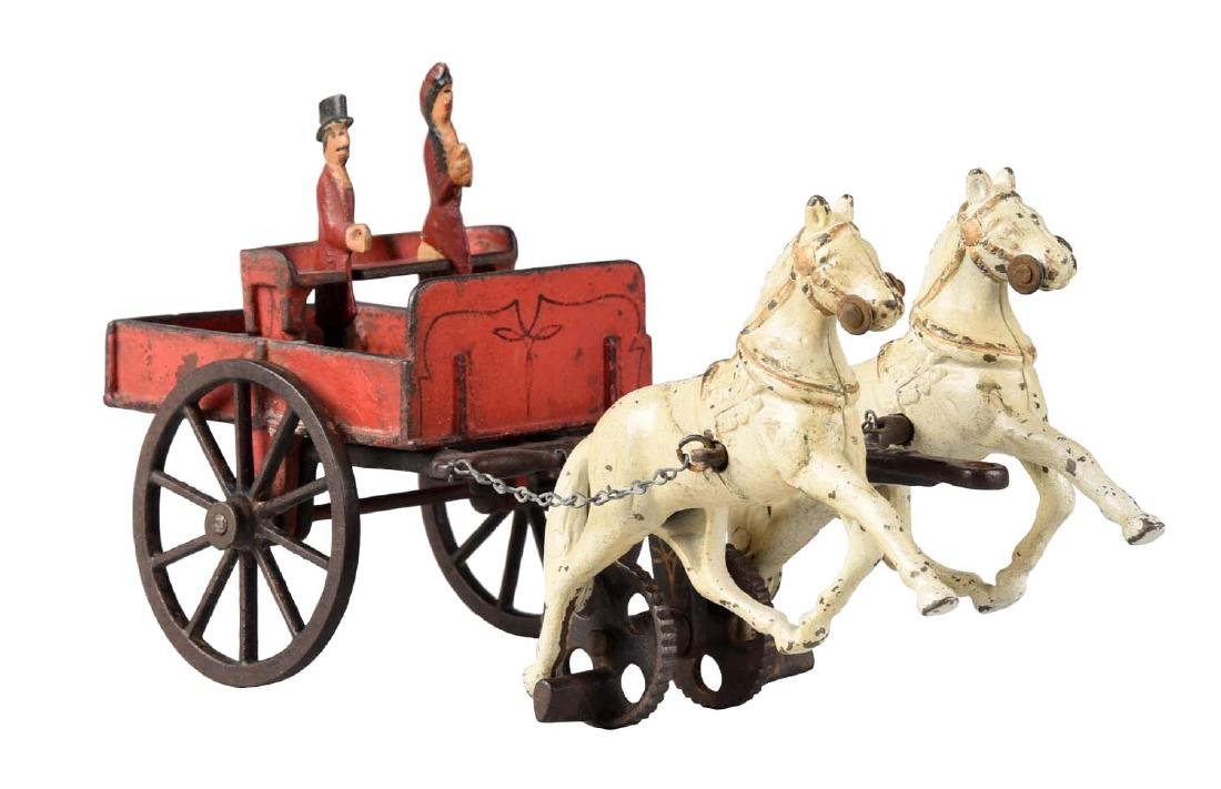 Carpenter Two Horse Drawn Cart.