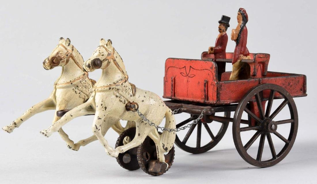 Carpenter Two Horse Drawn Cart. - 2