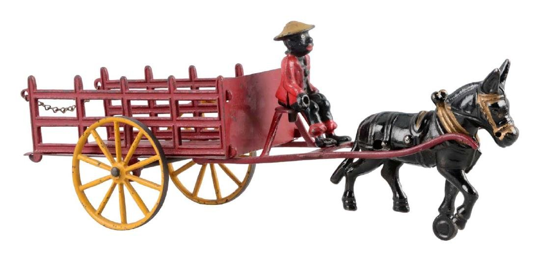 Wilkins Mule Drawn Stake Wagon