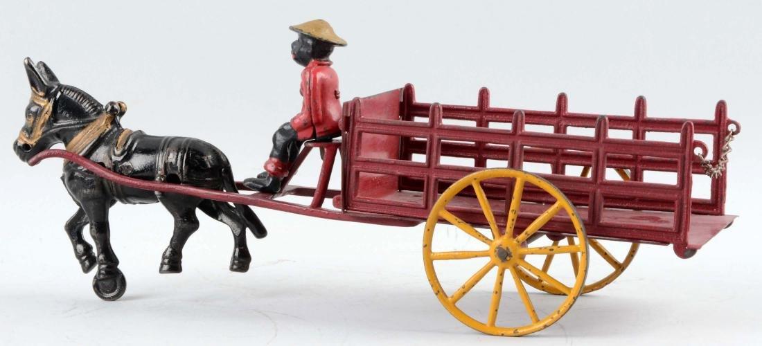 Wilkins Mule Drawn Stake Wagon - 2