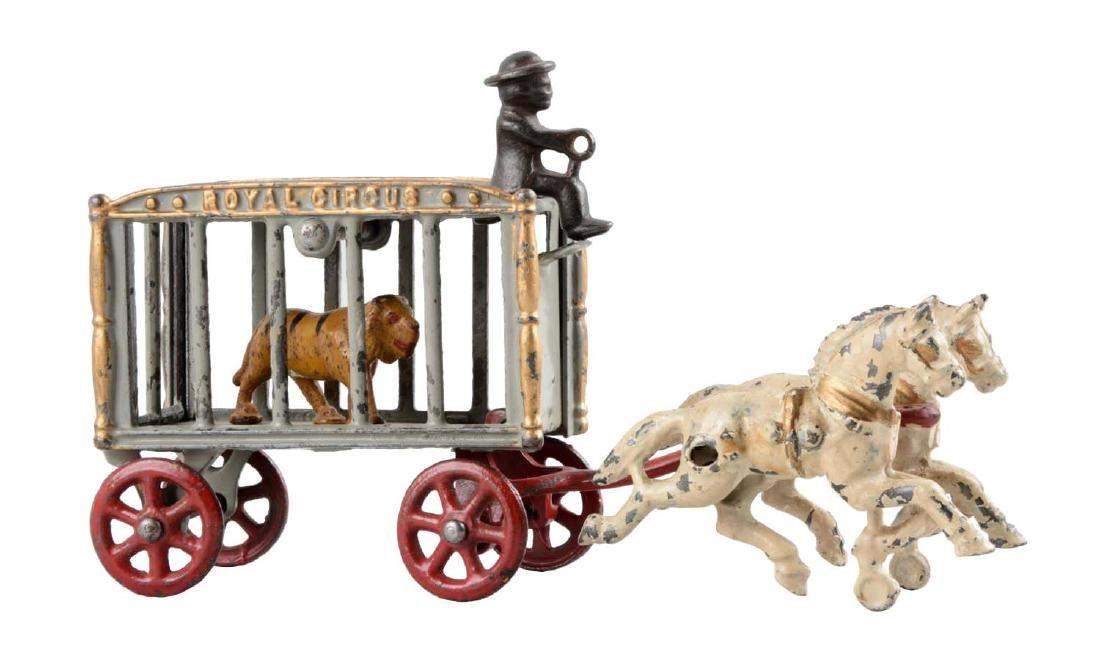 Hubley Royal Circus Cage Wagon.
