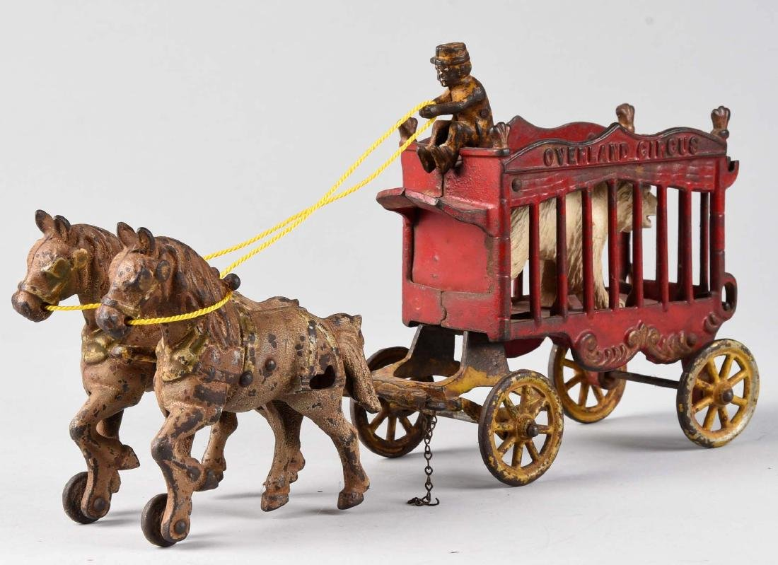 Kenton Overland Circus Cage Wagon. - 2