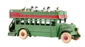 Kenton Cast Iron Double Decker Bus.