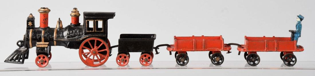 Carpenter 4 Piece Cast Iron Train Set. - 2