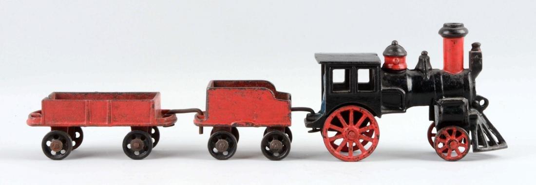 Carpenter 3 Piece Cast Iron Floor Train.