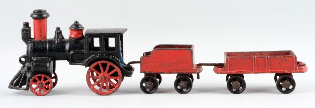 Carpenter 3 Piece Cast Iron Floor Train. - 2