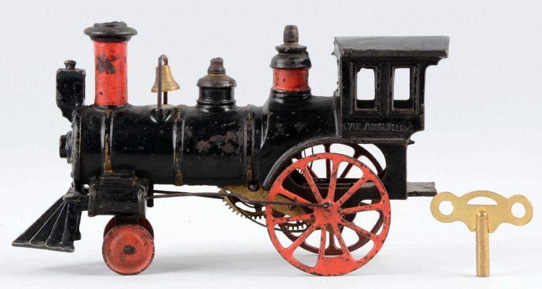 Ives Clockwork Cast Iron Locomotive. - 2