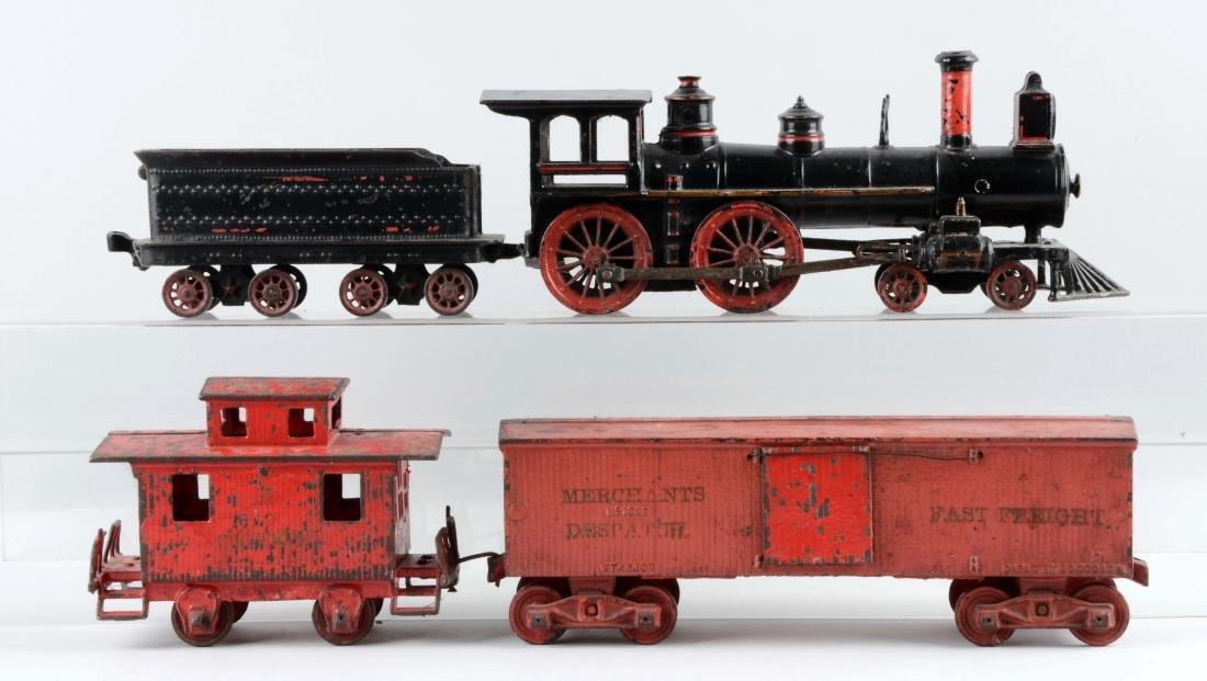 Wilkins 4 Piece Freight Cast Floor Train.