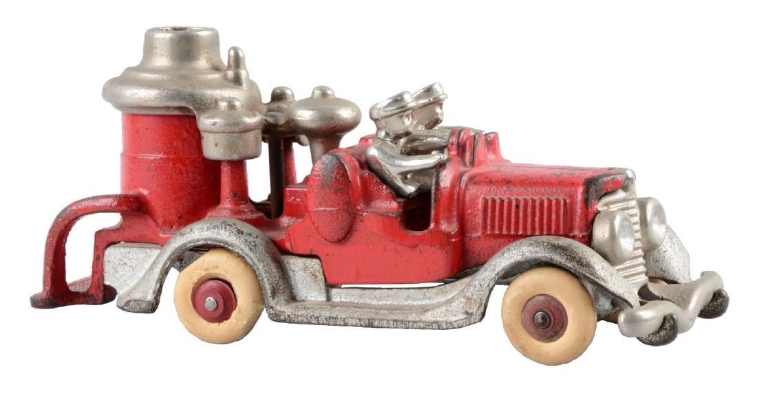 Hubley Cast Iron Fire Truck.