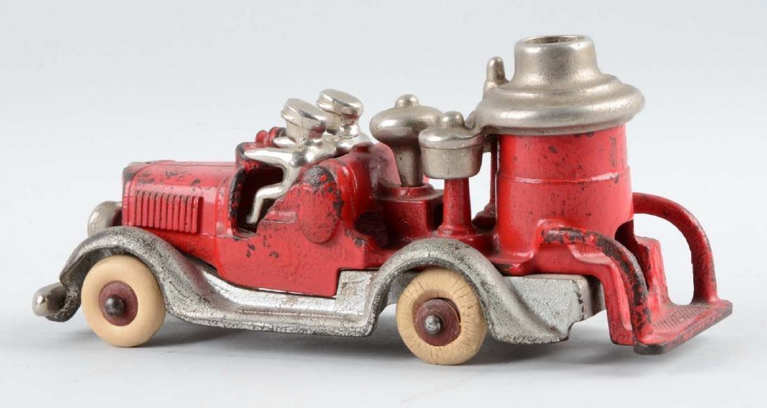 Hubley Cast Iron Fire Truck. - 3