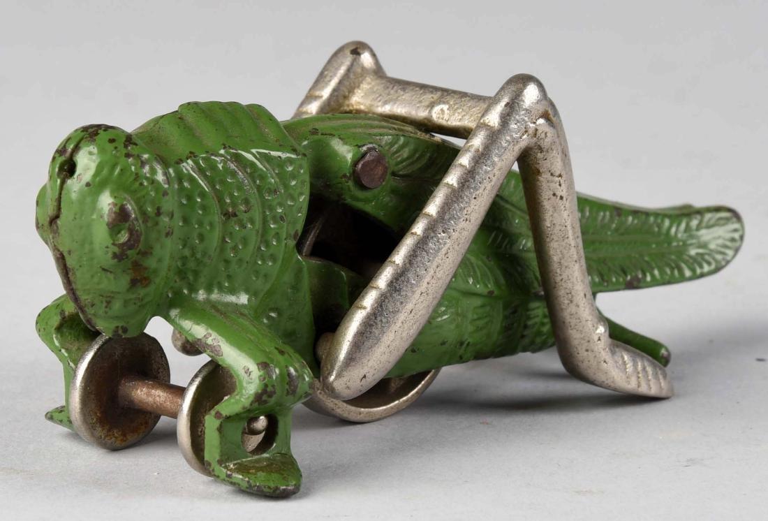 Hubley Cast Iron Small Grasshopper. - 2