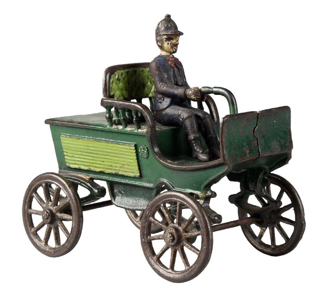 Harris Horseless Early Auto.