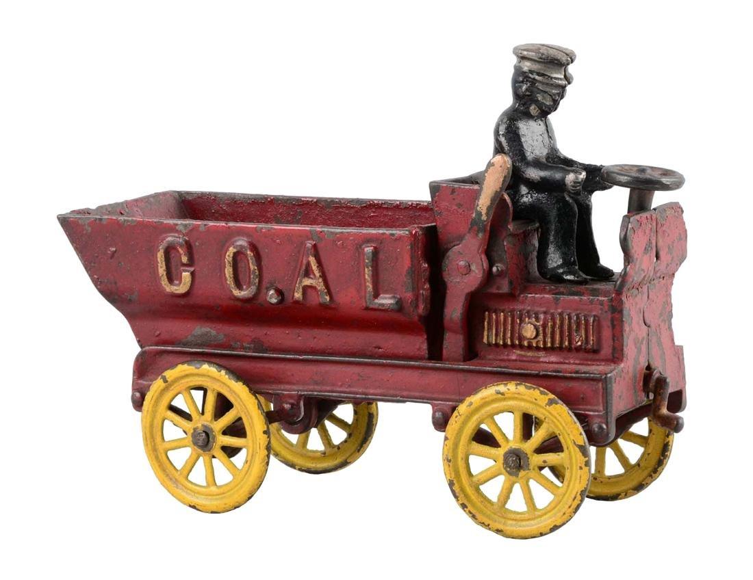 Kenton Cast Iron Coal Dump Truck.