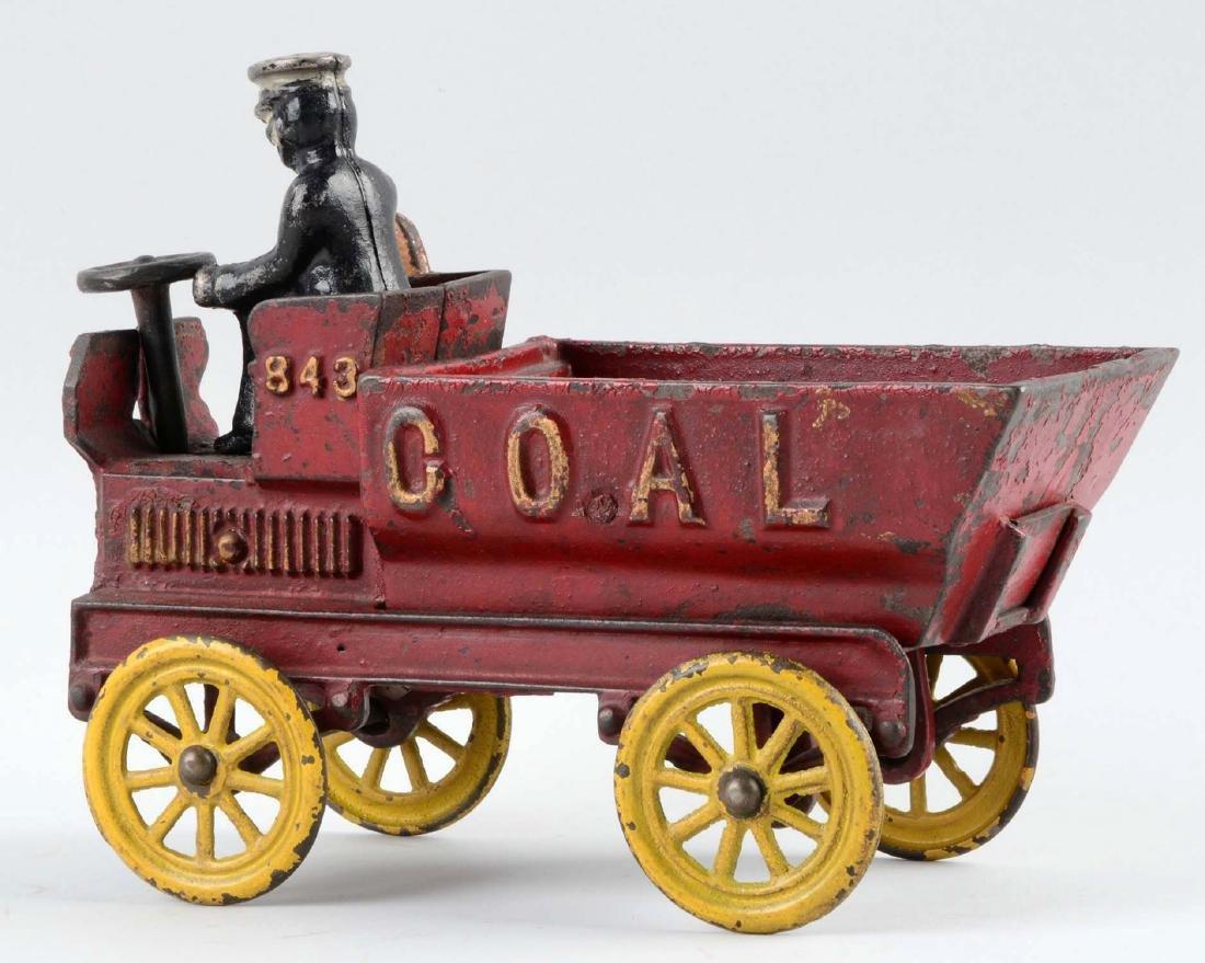 Kenton Cast Iron Coal Dump Truck. - 2