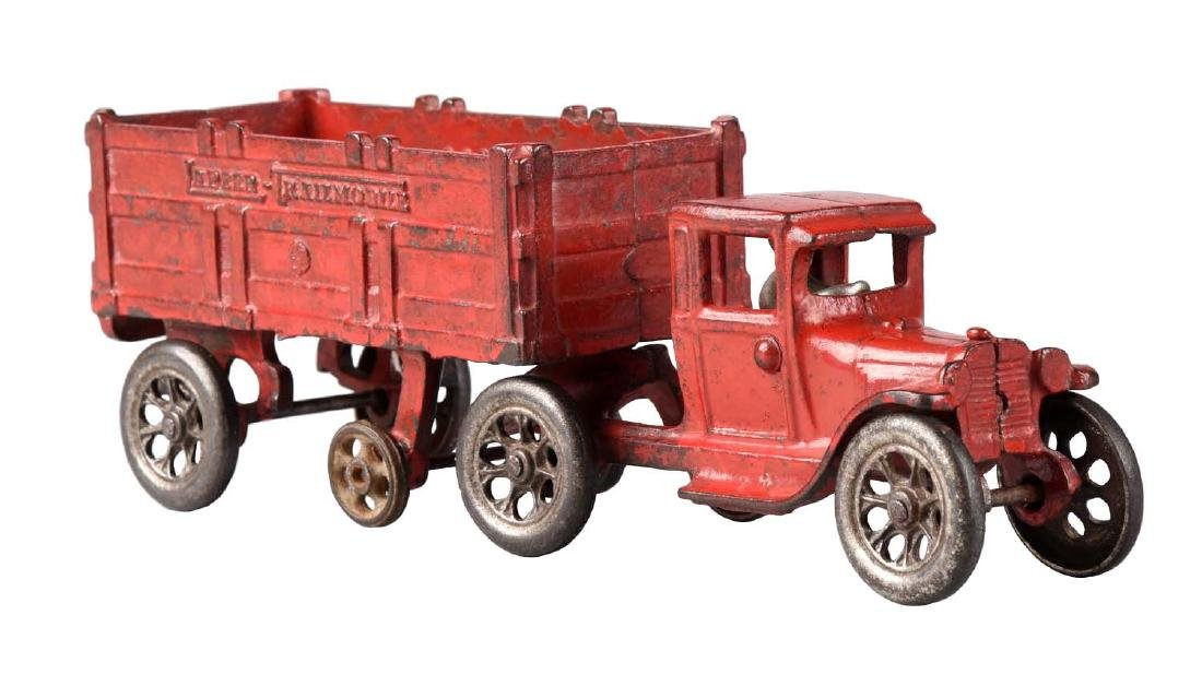 Arcade Tandem Tractor & Trailer.