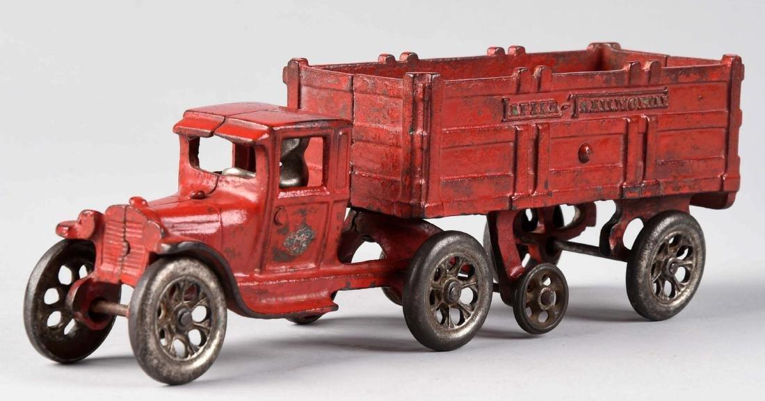 Arcade Tandem Tractor & Trailer. - 2