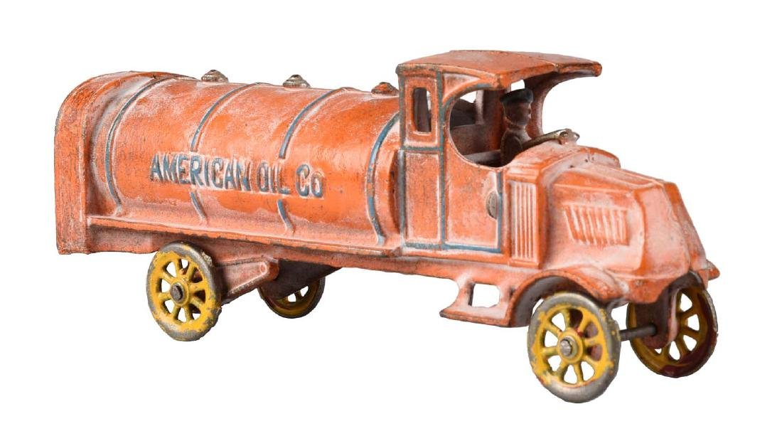 Dent American Oil Gas Truck.