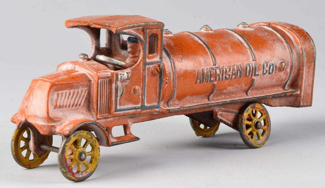 Dent American Oil Gas Truck. - 2