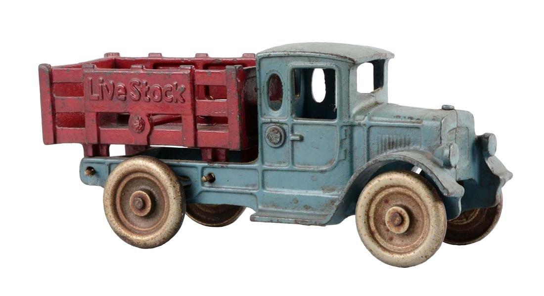 Kilgore Livestock Cast Iron Stake Truck.
