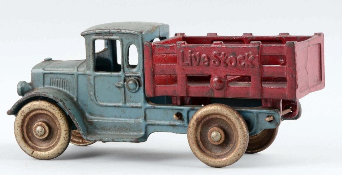 Kilgore Livestock Cast Iron Stake Truck. - 2