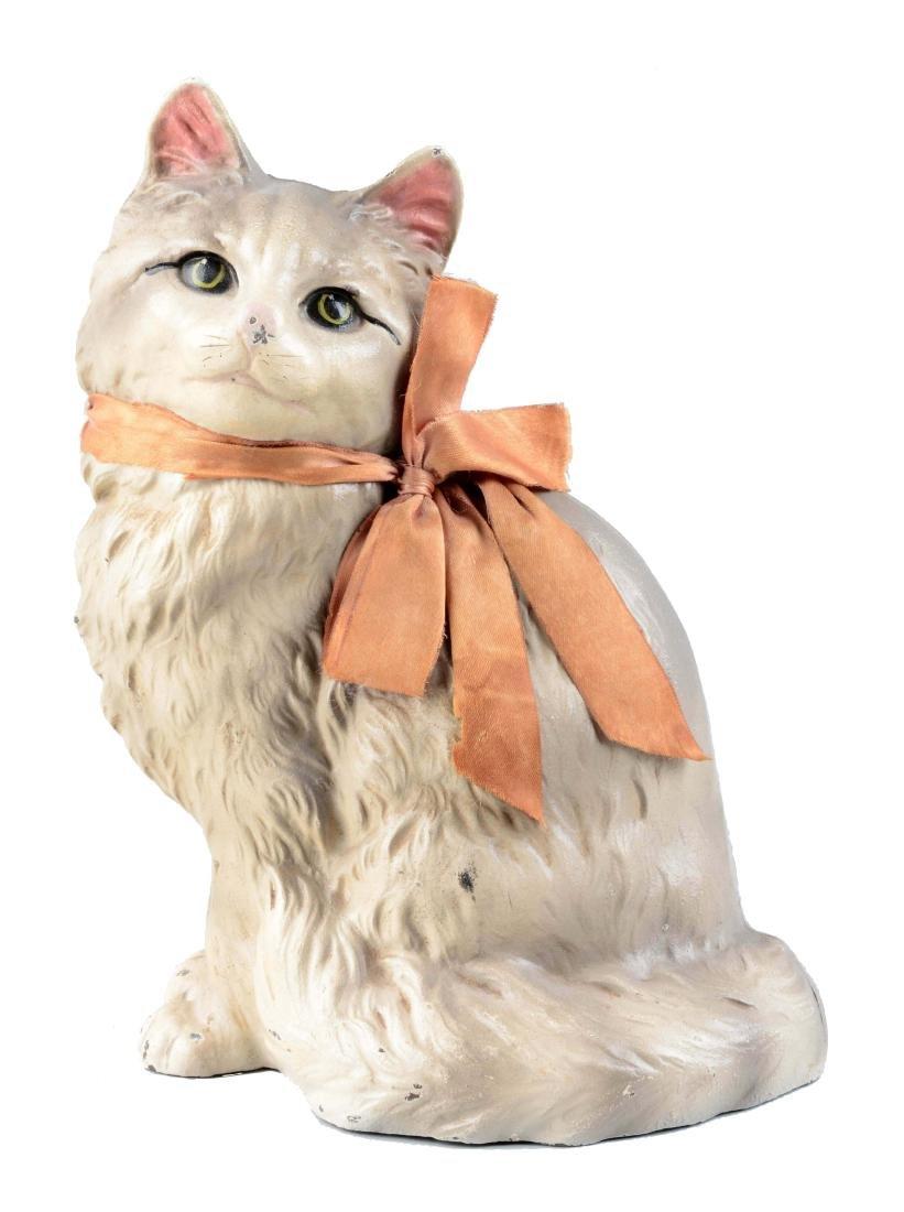 Cast Iron Persian Cat Doorstop.