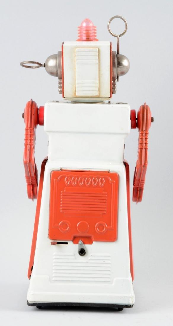 Japanese Tin Litho Battery-Operated Mystery Moon Man - 2