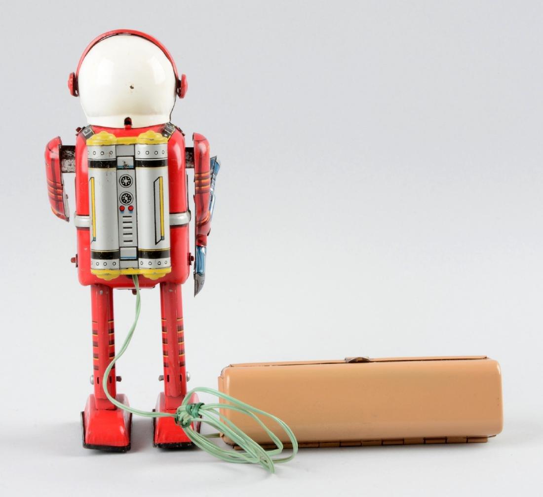 Japanese Tin Litho Space Man (Porthole Robot). - 2