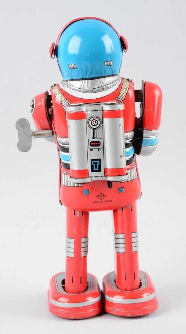 Japanese Tin Litho Wind Up Moon Astronaut. - 2